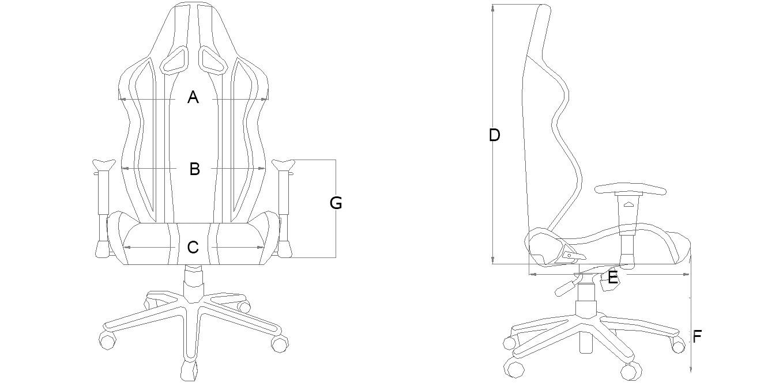 AKRACING Player Gaming Chair Review AKRACING, chair, Gaming 2