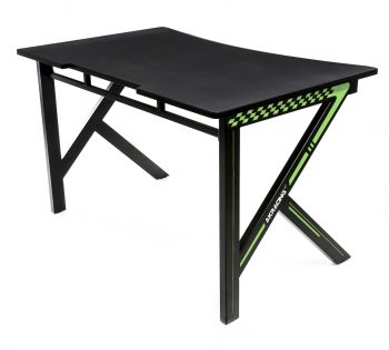 Gaming Desk Green (13)