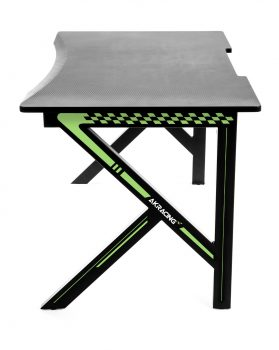 Gaming Desk Green (5)