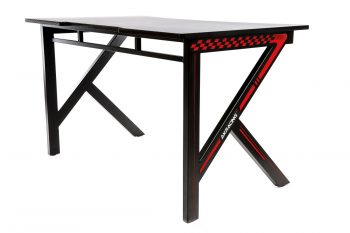 Gaming Desk Red (15)
