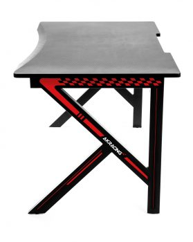 Gaming Desk Red (6)