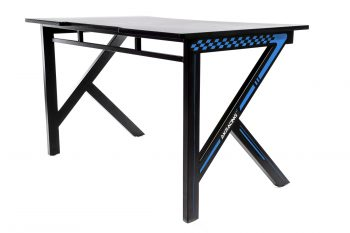 Gaming desk Blue (14)