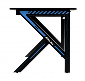 Gaming desk Blue (4)