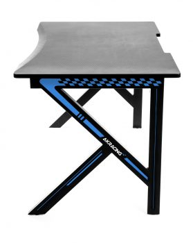 Gaming desk Blue (5)